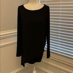 NWT White House Black Market Layered Tunic Sz M